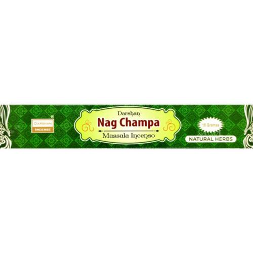 Incenso Massala Nag Champa Green