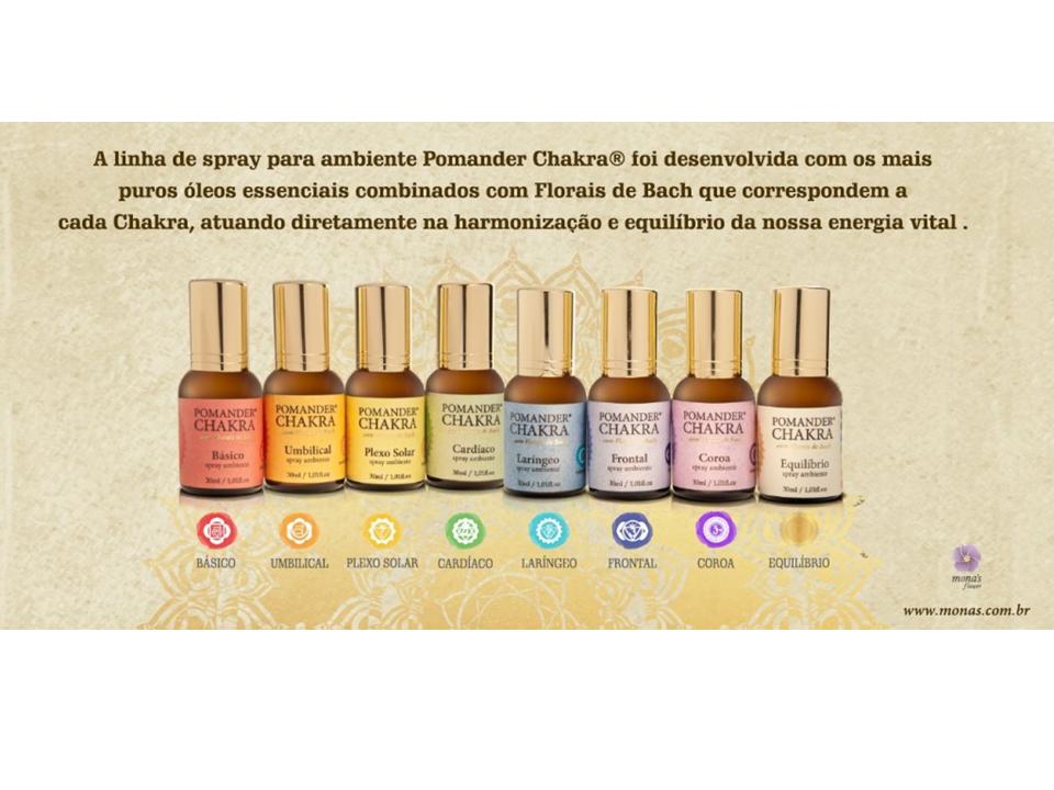Kit Pomander Chakra Florais de Bach Original