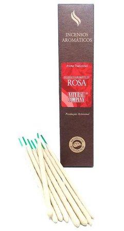 Incenso Natural Rosa - Natural Company