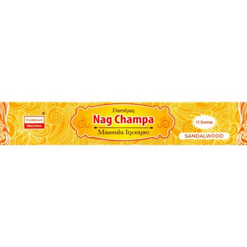 Incenso Nag Champa Massala Yellow
